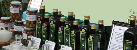 photograph of barfold olive oils